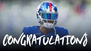 Download Odell Beckham Jr: Congratulations ft. Post Malone (2017 Giants Highlights) ᴴᴰ Video