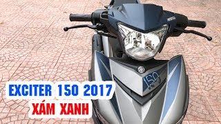 Download Exciter 150 Xám Xanh 2017 MAT BLUE ▶ Cận cảnh Chiến binh mới của Yamaha! Video