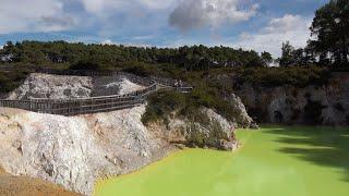 Download Rotorua Geothermal Area, New Zealand in 4K Ultra HD Video
