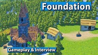 Download Foundation   Medieval gridless City Builder ► gamescom 2017 #gamescom2017 Video