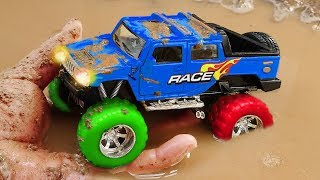 Download Fine Toys Construction Vehicles Looking for underground car | Toys for kids #2 Video