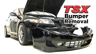 Download 2004-08 Acura TSX front bumper removal - DIY Video