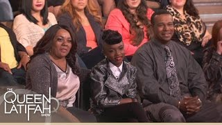 Download Janelle Monáe Shows Her Biggest Fan #GirlsCan | The Queen Latifah Show Video