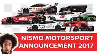 Download NISMO 2017 MOTORSPORT ANNOUNCEMENT: NISMO NEWS! Video