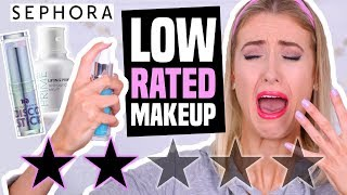 Download FULL FACE TESTING LOW RATED Makeup from SEPHORA || What Worked & What DIDN'T Video