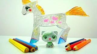 Download Учимся рисовать лошадку! Творчество для детей Video
