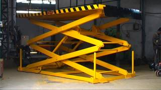 Download Flame Proof Scissor Lift Table Manufactures in Pune India Video