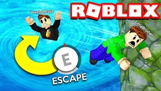 Download ROBLOX FLOOD ESCAPE OBBY CHALLENGE with my LITTLE BROTHER! (RAGE WARNING) Video