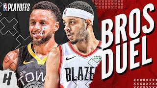 Download Stephen Curry vs Seth Curry BEST Brothers Moments & Highlights from 2019 NBA West Finals! Video