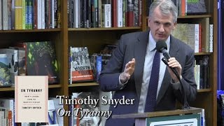 Download Timothy Snyder, ″On Tyranny: Twenty Lessons From The 20th Century″ Video