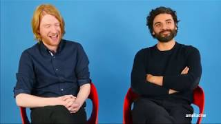 Download Domhnall Gleeson and Oscar Isaac Funny Moments Video