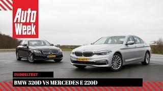 Download BMW 520d vs. Mercedes E 220d - Dubbeltest - English subtitles Video