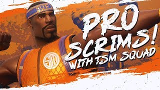 Download TSM PRO TEAM SCRIMS! WINNING WITH THE SQUAD (Fortnite BR Full Match) Video