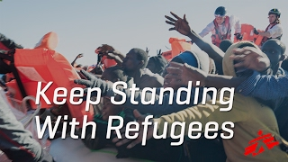 Download Keep Standing With Refugees; We Will, Too! Video