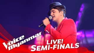 Download Mark Jason: ″အခ်စ္ဆံုး″ - Live Semi-Final - The Voice Myanmar 2018 Video