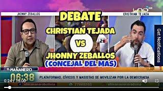 Download Debate Christian Tejada Vs Jhonny Zeballos (Concejal del MAS) Video