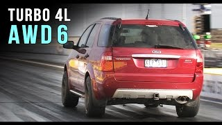 Download Ford Territory AWD turbo 6 runs 10.14 @ 136mph Video