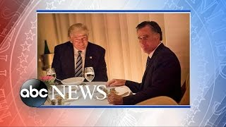 Download Donald Trump's Dinner With Mitt Romney Video