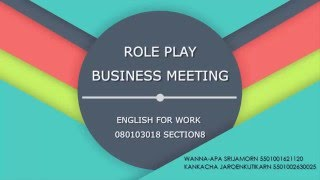 Download Role play : Business meeting Video
