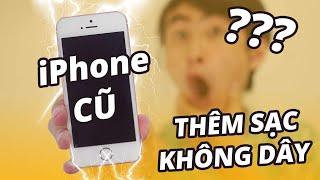 Download BIẾN iPHONE ĐỜI CŨ CÓ THÊM SẠC KHÔNG DÂY??!!! Video
