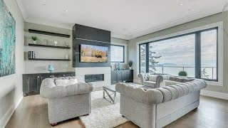 Download Stunning Ocean View Home in White Rock, Canada Video