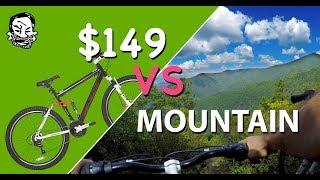 Download $149 Mountain Bike vs mountain - The Walmart Enduro Video