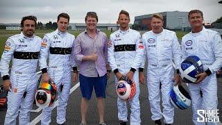 Download KARTING RACE! Alonso vs Button vs Coulthard vs Häkkinen vs Vandoorne Video