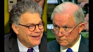 Download Al Franken Laughs at Jeff Sessions trying to answer his questions Video