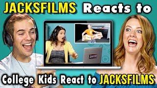 Download JACKSFILMS REACTS TO COLLEGE KIDS REACT TO JACKSFILMS Video
