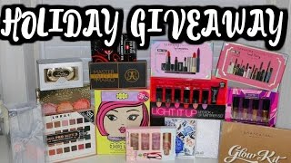 Download MY HUGE HOLIDAY MAKEUP GIVEAWAY!!!! OPEN INTERNATIONAL- CLOSED GIVEAWAY Video