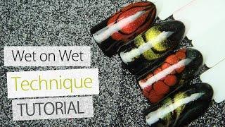 Download DIY Nail Art Designs | Wet on Wet Technique Tutorial | Cat Eye Effect Nails Lesson Part 8 Video