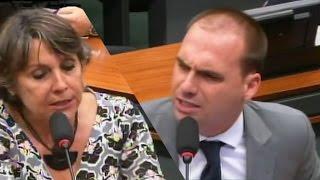 Download ➜ Eduardo Bolsonaro esquadra Erika Kokay e chama petistas de ″bebês chorões″ Video
