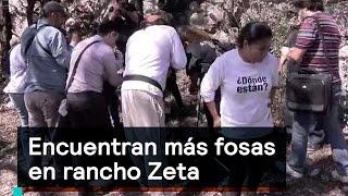 Download Encuentran más fosas en rancho Zeta - Inseguridad - Denise Maerker 10 en punto Video