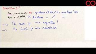 Download L'usage du pronom relatif DONT Video