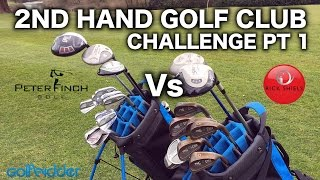 Download RICK Vs PETER - THE 2nd HAND GOLF CLUB CHALLENGE PT1 Video