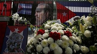 Download L'Avana pronta per la lunga marcia dei funerali di Fidel Castro Video