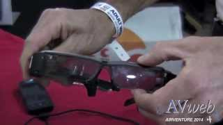 Download Aero Glass Augmented-Reality Glasses Video