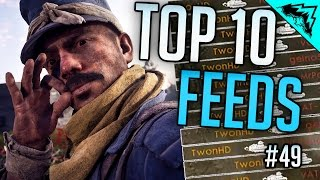 Download RECORD FEEDS - Top 10 Battlefield 1 Feeds & Flanks - Roadkills, Flanker Tank & More (Bonus Plays 49) Video