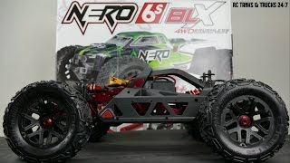 Download ARRMA NERO BLX 1/8 BRUSHLESS 6S 4WD MONSTER TRUCK Video