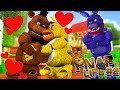 Download Minecraft Series FNAF LIFE #2-BONNIE IS PLANNING TO BREAK FREDDY FAZBEAR AND CHICA UP???- Baby Leah Video