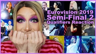 Download Eurovision 2019: Live Reaction to Semi-Final 2 Qualifiers Video