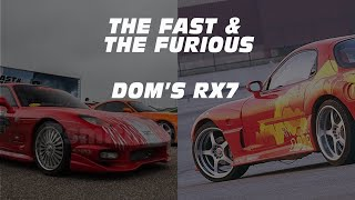 Download Dom's RX7: Specs, Performance and the backstory. Video