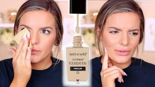 Download WET N WILD Photo Focus Foundation Review & Wear Test | Casey Holmes Video