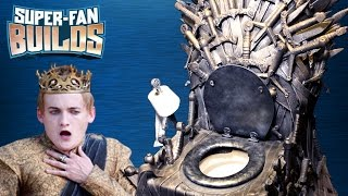 Download Game of Thrones - Iron Throne Toilet - SUPER FAN BUILDS Video