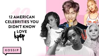 Download 12 American Celebrities You Never Knew Liked K-Pop | The Kossip List Video