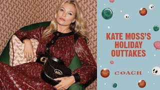 Download Kate Moss's Holiday Outtakes | Coach New York Holiday Campaign 2019 Video