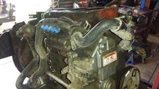 Download Caterpillar skid steer engine rebuild. Cat 3024c,(Perkins/Shibaura N844) engine. part 1:tear down Video