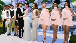 Download WEDDING CEREMONY OF A PREGNANT SIM l SIMS 4 Video