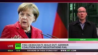 Download 'Merkel's time as politician is over now, it's her personal failure' - German MP Video