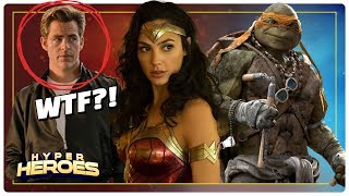 Download Wonder Woman 1984 Begins Filming, First Look at Aquaman, New TMNT Movie and more! Video